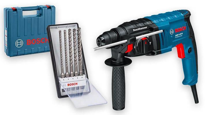 Pack marteau perforateur filaire SDS plus GBH 2-20 D