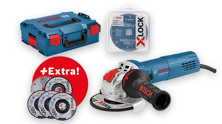 Pack meuleuse GWX 750-125 X-Lock