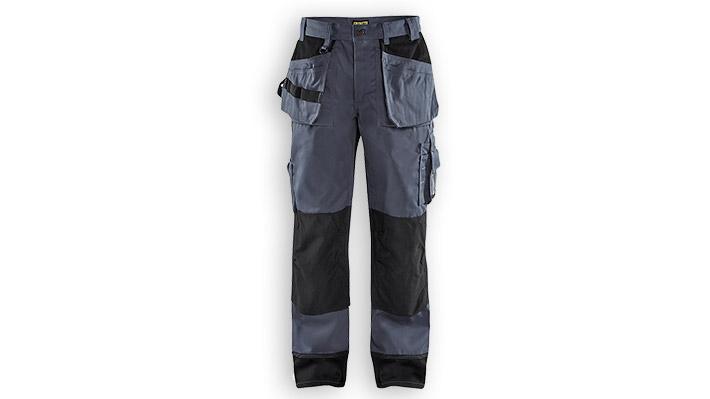 Pantalon artisan 1503 Gris acier/Noir T40