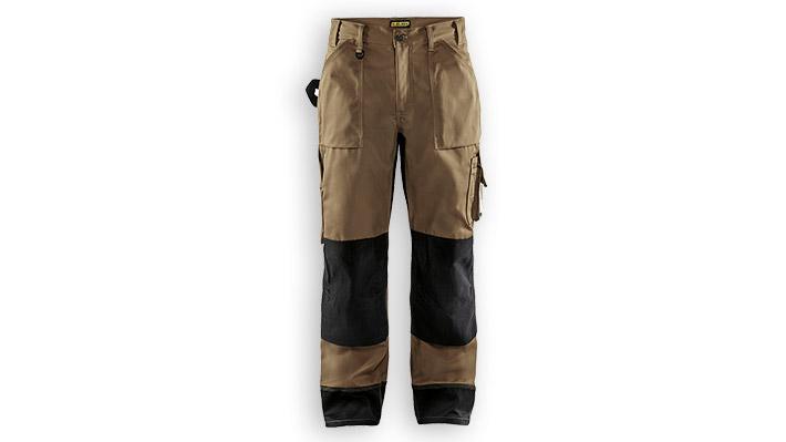 Pantalon artisan 1523 Beige/Noir T46