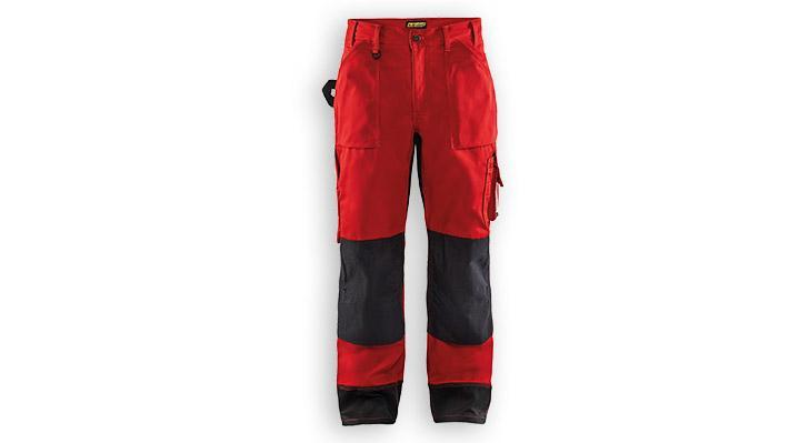 Pantalon artisan 1523 Rouge/Noir T50