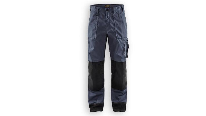 Pantalon artisan 1523 Gris acier/Noir T54