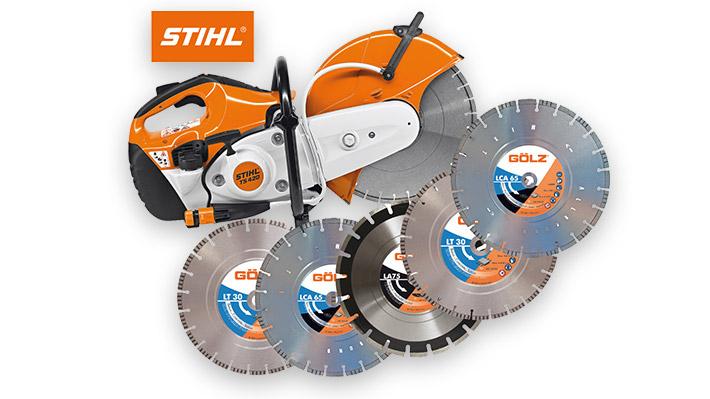 Lot découpeuse TS420 avec 5 disques Ø350 mm