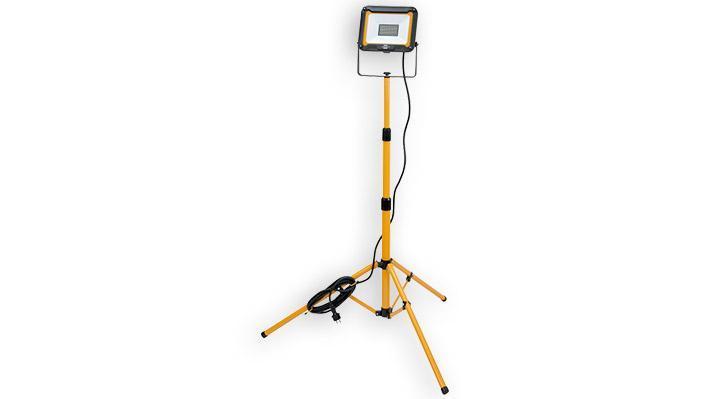 Projecteur LED JARO, avec trépied, 4770 lumen, 5m de câble