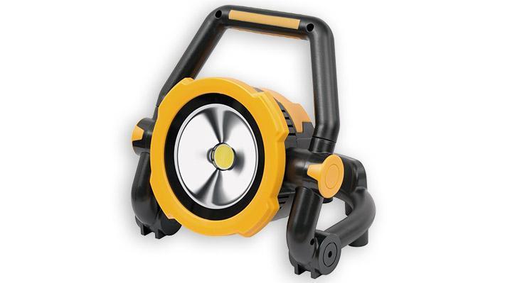 Projecteur LED portable, pliable, rechargeable, 2600 lumens