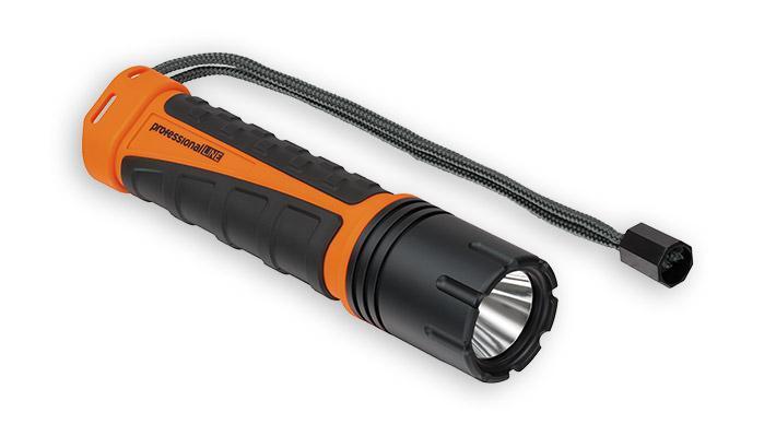 Lampe de poche professionalLINE LED rechargeable 550 lumens
